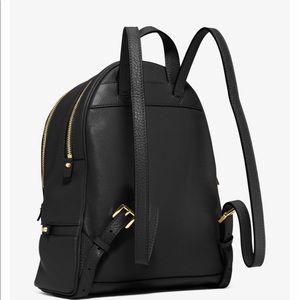 178feb38a003 MICHAEL Michael Kors Bags - Michael Kors Rhea Large Leather Backpack